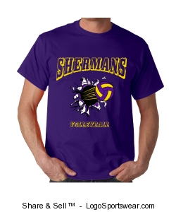 Sherman Volleyball )Adult) Design Zoom