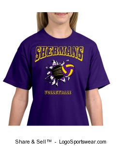 Sherman Volleyball (Youth) Design Zoom